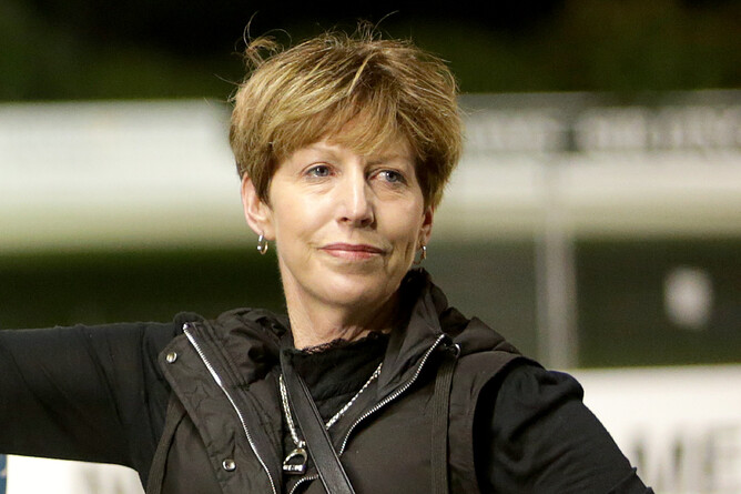 Cambridge trainer Lyn Neal - Trish Dunell